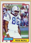 Indianapolis Colts Piece of Authentic Single Football Cards