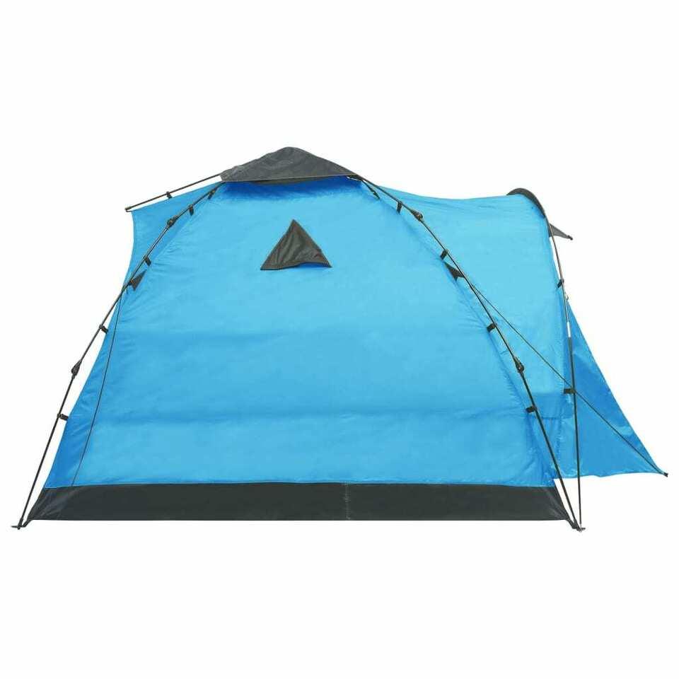 Tenda da Campeggio Pop Up per 3 Persone Blu 7