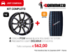 """Cerchi in lega 16"""" PSW + Gomme Usate,Jeep Compass"""