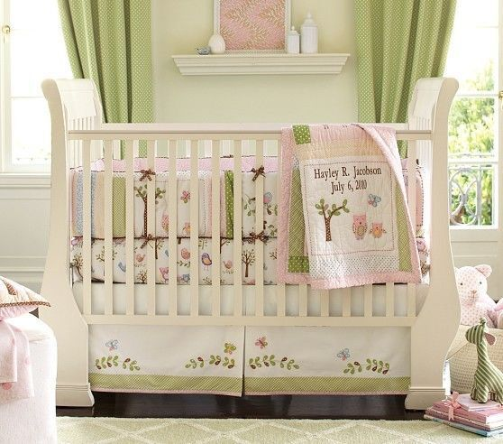 Solid Tan Baby Bedding