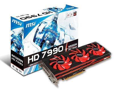 Special low temperature MSI Radeon HD 7990 BTC LTC DOGE (Mines 1400 kh/s @ 75C)