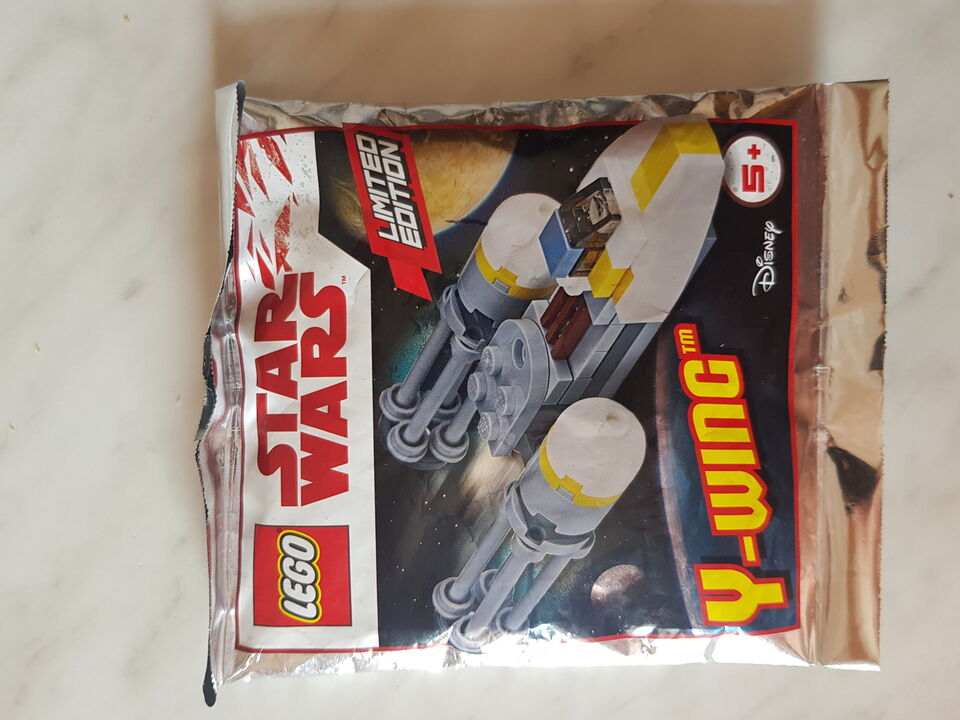 Lego • star wars y-wing sw911730 polybag limited edition - nuovo