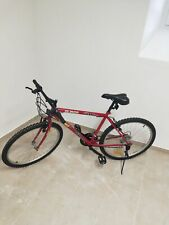 Mountain bike rossa