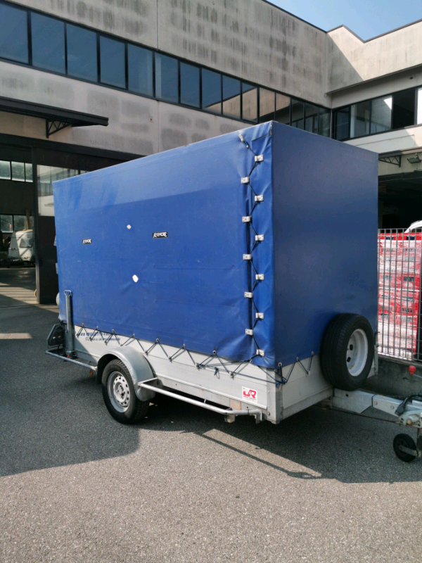 Rimorchi carrello noleggio trasporto auto merce trattori 3
