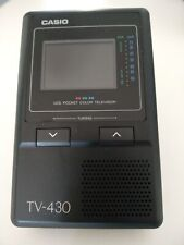 TV 430 Casio LCD Vintage