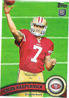 Rookie Colin Kaepernick Lot Football Trading Cards
