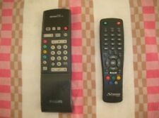 Telecomando tv philips e decoder digitale strong