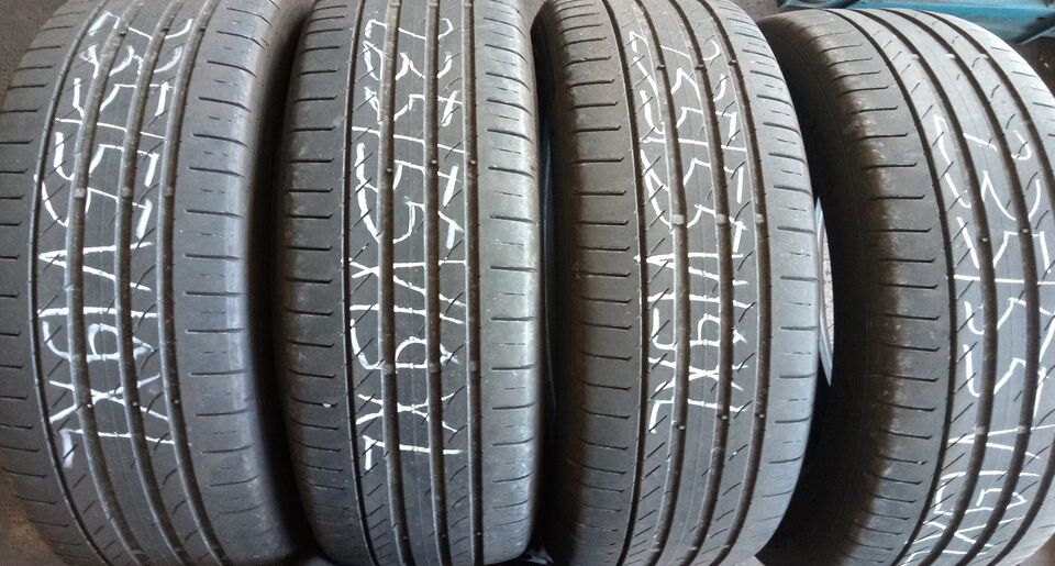 4 gomme usate 235/55v19 continental 2