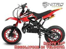 Minimoto cross apollo style NUOVA - Mini moto cross quad 49cc