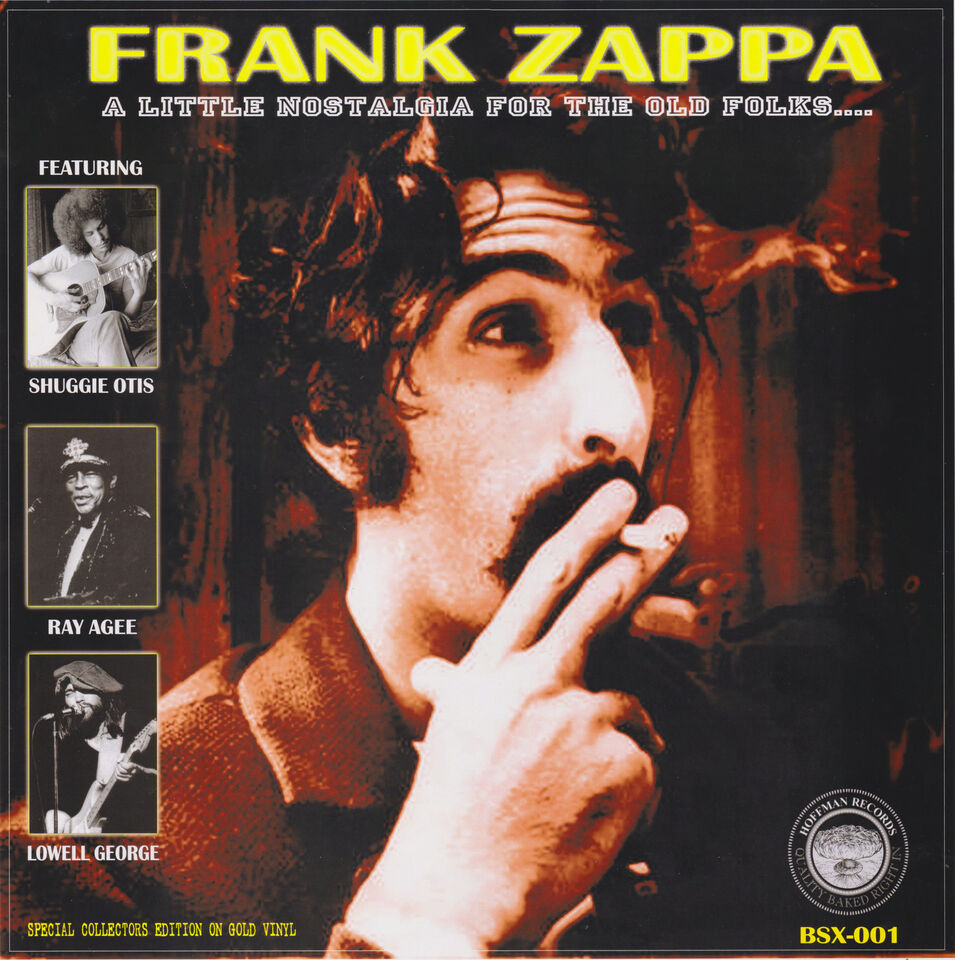 Frank Zappa A little nostalgia for the old folks LP ed. lim. 40 3