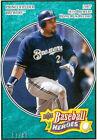 Prince Fielder Single Baseball Cards