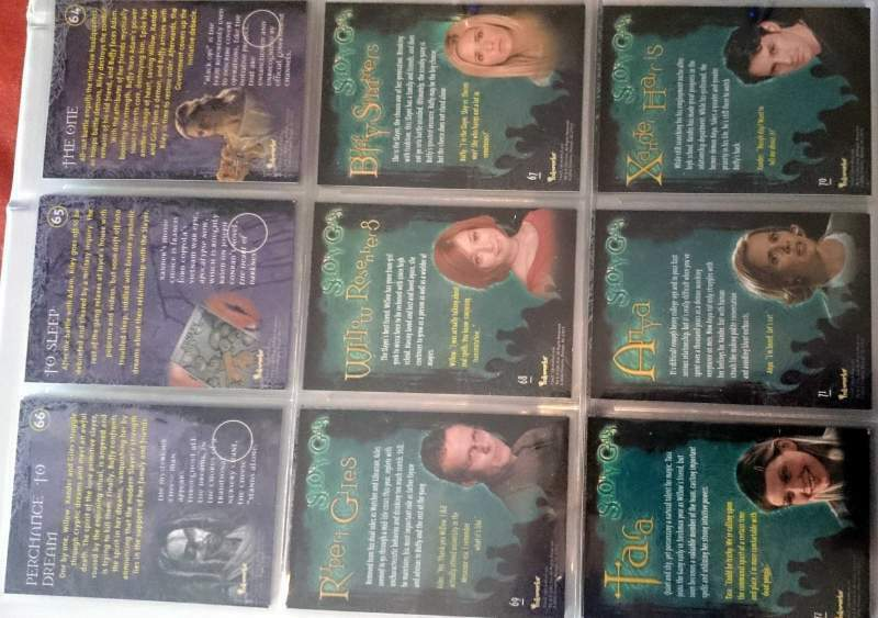 Cards collection buffy