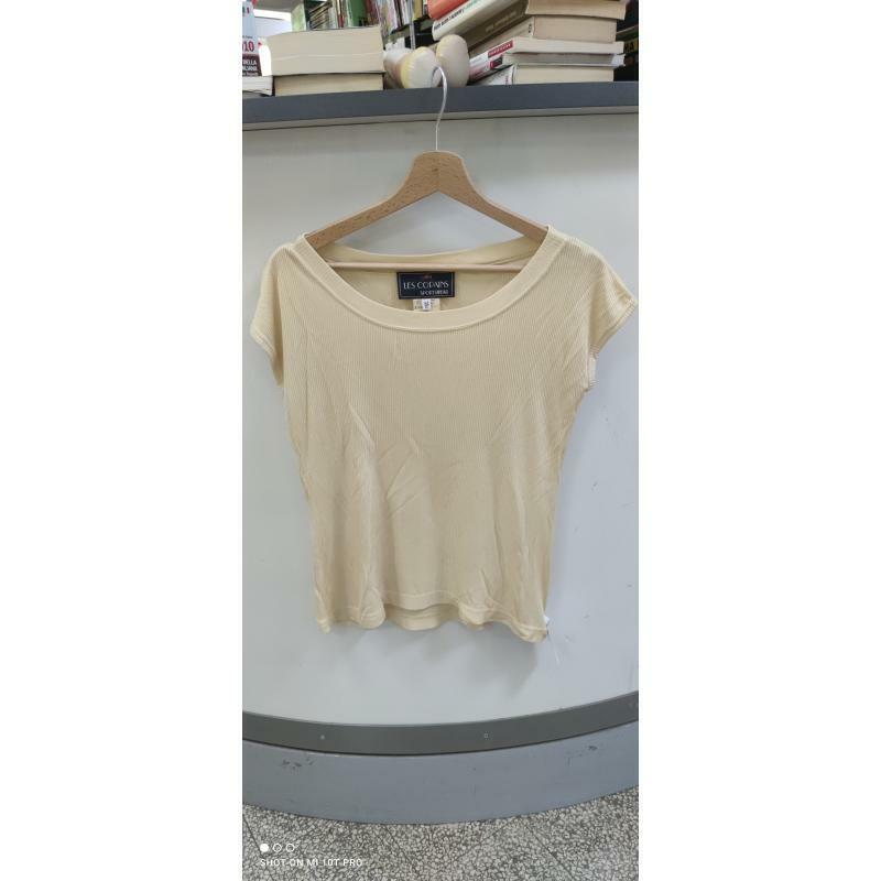 Maglia donna les copains righe yell