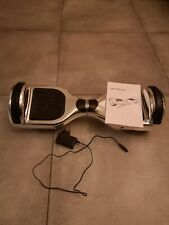 Hoverboard bluetooth argento con casse integrate