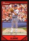 Bowman Tom Glavine Single Baseball Cards