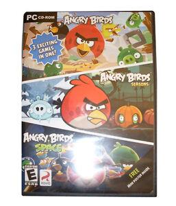 NEW SEALED ANGRY BIRDS/ ANGRY BIRDS SEASONS/ ANGRY BIRD