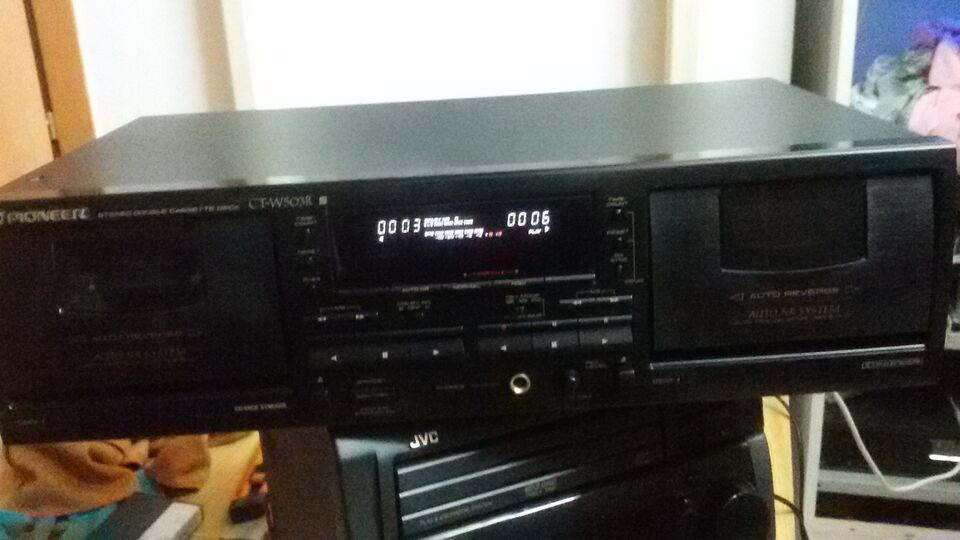 Piastra a cassette PIONEER CT W503R hifi vintage 3