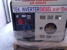 Gruppo elettrogeno nuovo sconto 50% 10 kw diesel