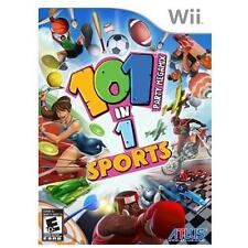 101-in-1 Sports Party Megamix (Nintendo Wii, 2011) Disc Only