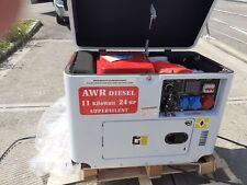 Gruppo elettrogeno generatore gasolio 11 kilovatt ats nuovo