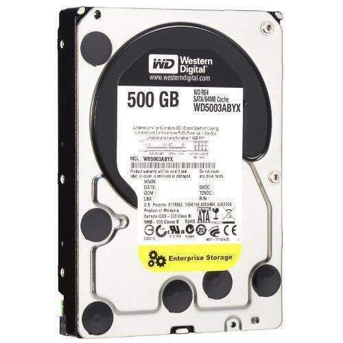Hdd nuovo western digital 500gb caviar black wd5003abyx re4