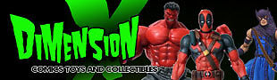 Dimension X Comics and Toys