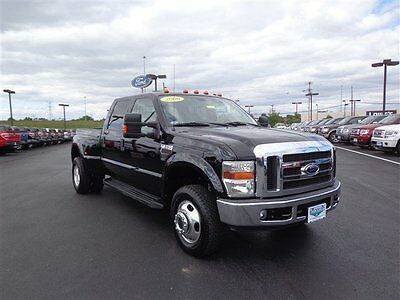 2008 Ford F350 Crew Cab 4WD Diesel Dually Short Bed Lariat