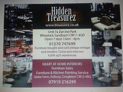 Hidden Treasurez Sandbach