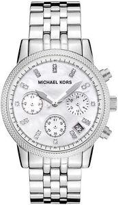 baf160c058d6 Michael Kors Ritz Silver-Tone MK5020 Wrist Watch for Women for sale ...