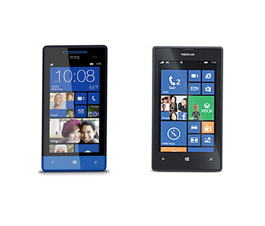 Nokia Lumia 520 vs. HTC 8S