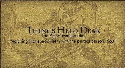 Things Held Dear