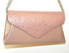 MINI POCHETTE ROSA borsello donna strass borsetta G69