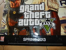 Poster Grand Theft Auto 2013 GTA5 originale