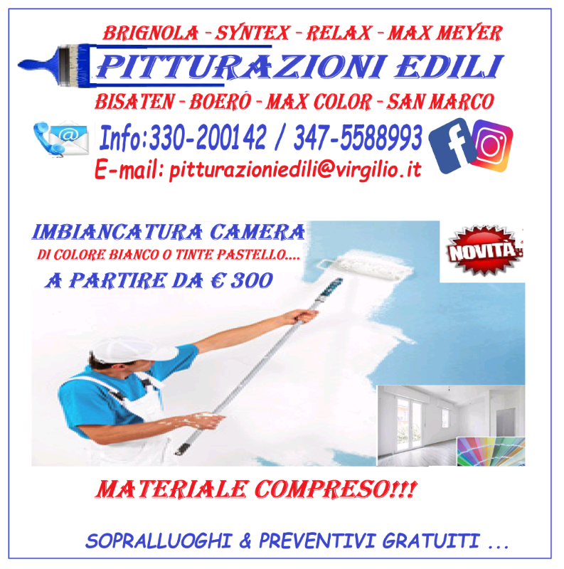 Pittore edile Low cost