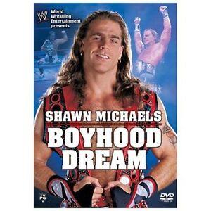 WWE-Shawn-Michaels-Boyhood-Dream-USED-DVD-Wrestling-WWF-WCW-ECW-TNA-Bret-Hart