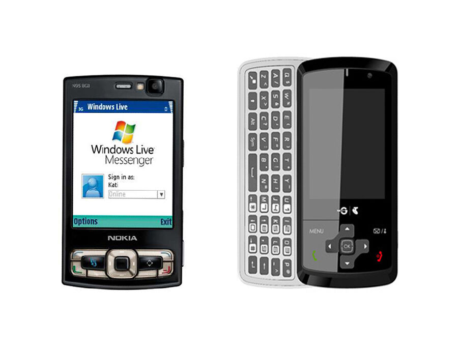 Nokia N95 vs. Telstra Glide T870