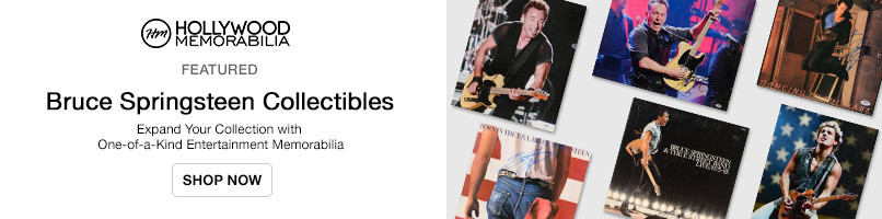 Shop Bruce Springsteen Collectibles