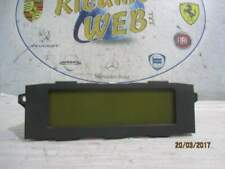 Citroen c5 2007 display centrale codice 578828