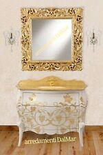 Mobile bagno cristal oro