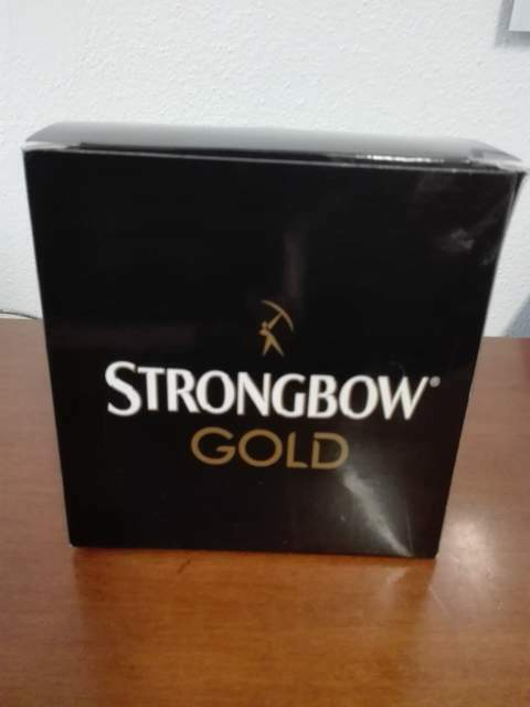Cuffie Strongbow Gold -nuove - 3