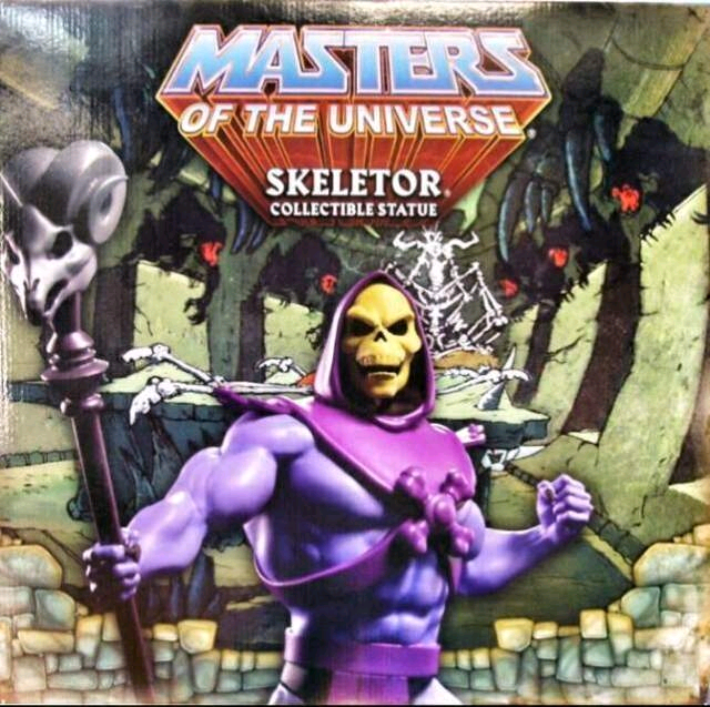 Skeletor statua Pop Culture Masters of the Universe
