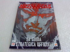 Metal Gear Solid libro manuale Guida Strategica nuova sigillata