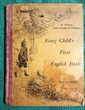 Every childs first english book + 4 libri w.disney