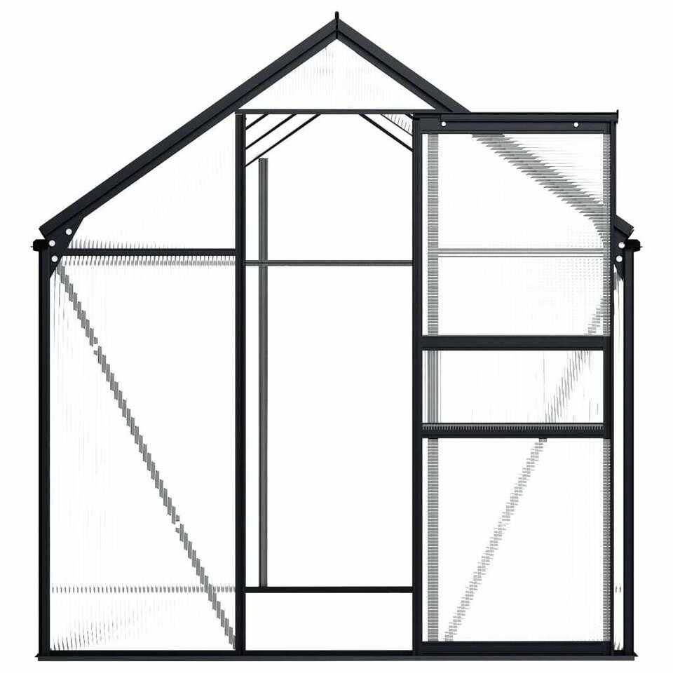 Serra Antracite in Alluminio 3,61 m² 3