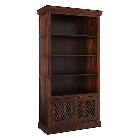 A Por Designer In Home Furnishings John Lewis Makes Bookcase That Is Both Functional And Decorative The Maharani Consists Of Dark