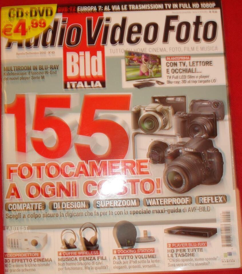 Rivista audio video fotografia anno 2010