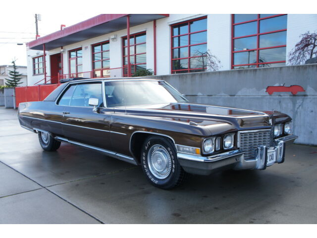 1972 cadillac coupe deville 27k miles reallly nice used. Cars Review. Best American Auto & Cars Review