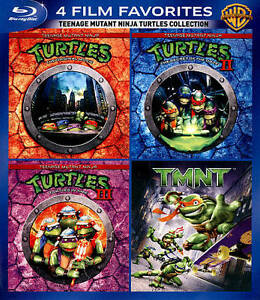 4 Film Favorites Teenage Mutant Ninja Turtles Teenage