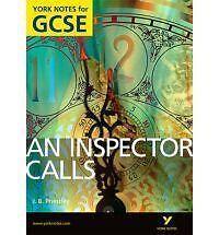 An-Inspector-Calls-York-Notes-GCSE-John-Scicluna-NEW-PB-Book-Free-Next-Day-Del