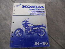 Manuale officina / Shop manual Honda CB 700 SC Nigthhawk 84/86